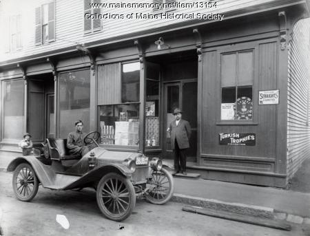 Pratt's Tobacco Store, Westbrook, 1914
