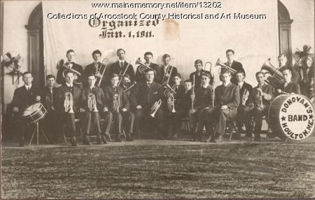 Donovan's Band, Houlton, 1914