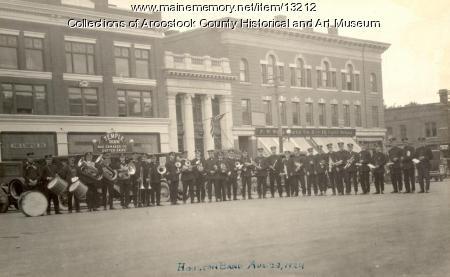 Houlton Community Band, 1924