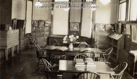 Walker Memorial Library, Westbrook 1943