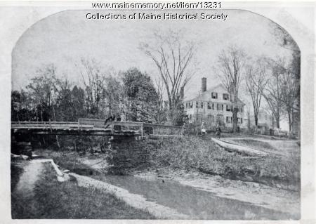 Warren House, Westbrook, ca. 1880
