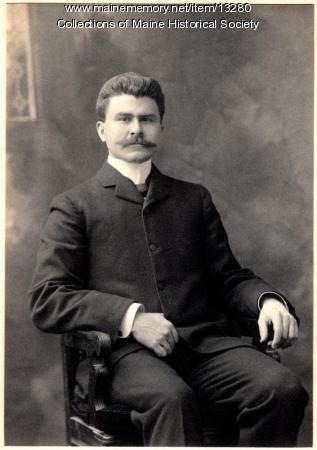 John Carroll Perkins, Portland, ca. 1900