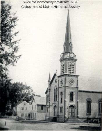 Westbrook Congregational Church, ca. 1900
