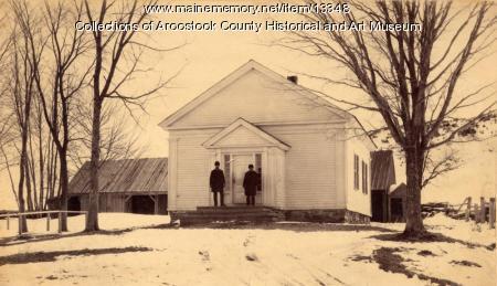 Hodgdon Corners Baptist Church, ca. 1890