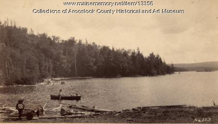 Picnicking at Drews Lake, 1892