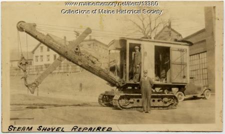 Steam-powered shovel, Portland Company