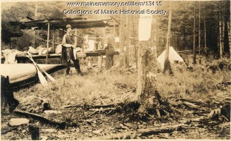 Camp Mosquito, Caucmgomic Stream, 1911