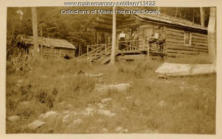 Cunliff and Mallett Camps, Umsaskis Lake, 1911