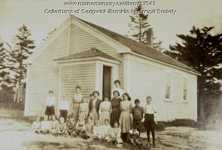 West Brooklin Elementary School, ca. 1921