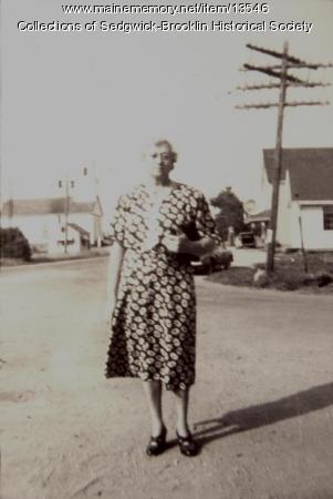 Ada Herrick, Brooklin, ca. 1945
