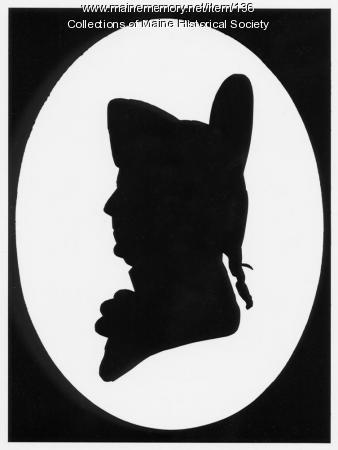 Silhouette of Peleg Wadsworth, Portland, ca. 1800