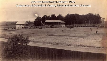Baseball game, Houlton, ca. 1895