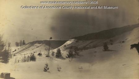 Snowbanks Along the Meduxnekeag