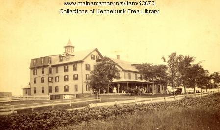 The Wentworth Hotel, Kennebunk Beach, ca. 1880