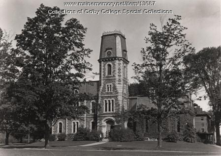 Memorial Hall, Colby College, old Waterville Campus