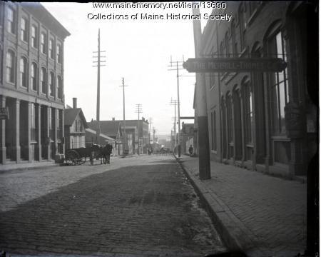 Cross Street, Portland, ca. 1890