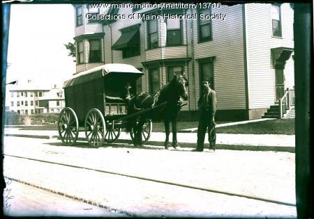 Burnham Ice Company, Portland, ca. 1900