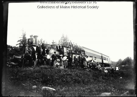 Camera Club, Sugarloaf Mountain, 1899