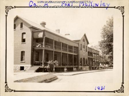 Co. A Fort McKinley, Great Diamond Island, 1931