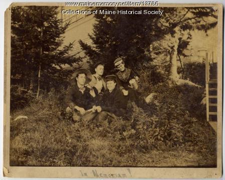 Four friends, 1891