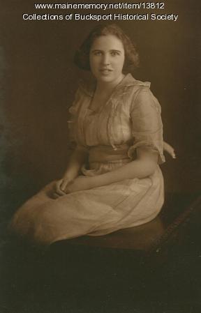 Josephine E. Smith, Bucksport, ca. 1922