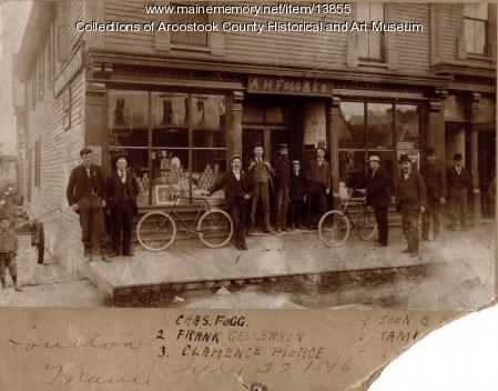 A. H. Fogg and Company, Houlton, 1896