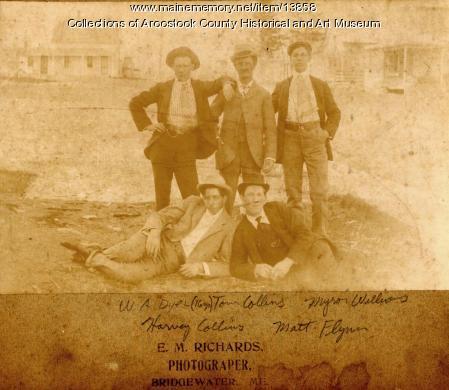 Bridgewater Guys, ca. 1900