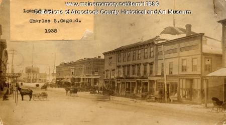 Main Street, Houlton, ca. 1885