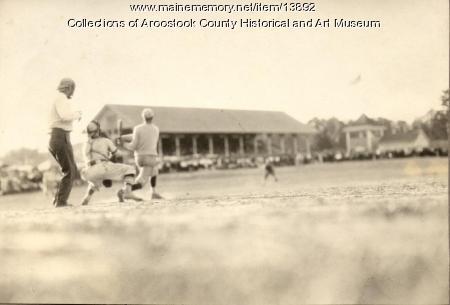 Portland-Houlton baseball,  Houlton, ca. 1945
