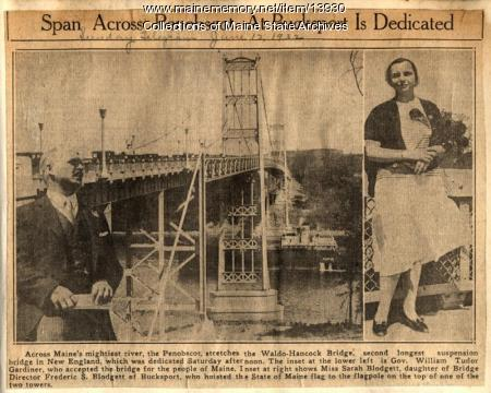 Waldo-Hancock Bridge Dedication, June 9, 1932