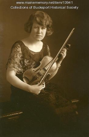 A. Elinor Hunter, Bucksport, ca. 1923
