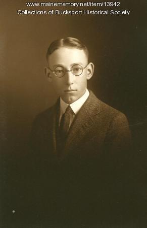 Cranston B. Deane, Bucksport, ca. 1923