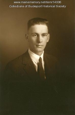 Harold L. Cushing, Bucksport, ca. 1923
