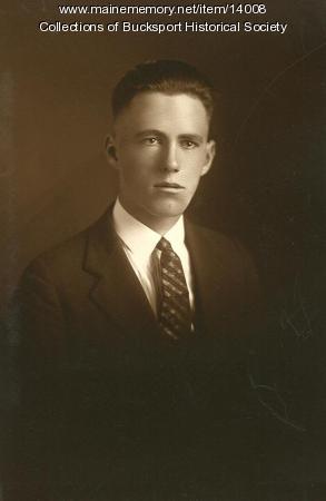Harry A. Smith, Bucksport, ca. 1923