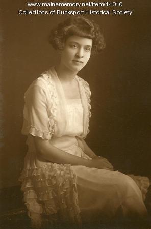Josephine Harriman, Bucksport, 1923