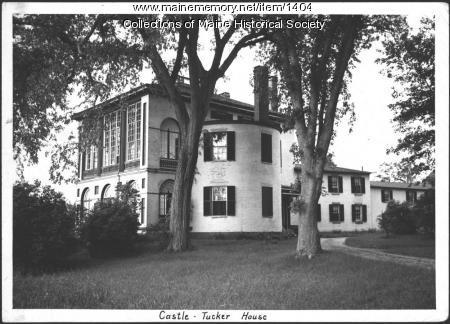Castle-Tucker House, Wiscasset, 1939
