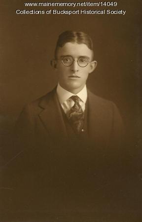 G. Mason Stanley, Bucksport, ca. 1922