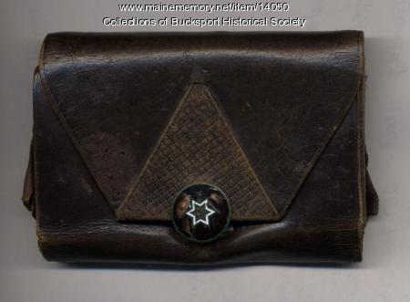 Sarah Ware's purse, Bucksport, ca. 1898