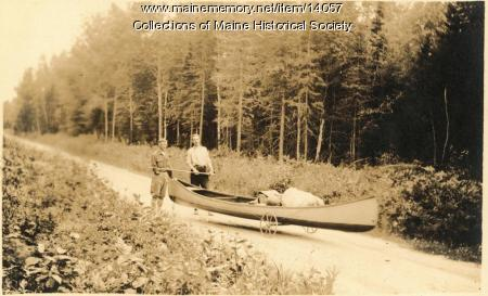 Portage, West Branch Penobscot River, 1911