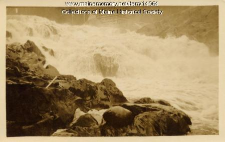 Close-up, Allagash Falls, 1911