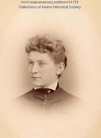 Mary G. S. Barker, Portland, 1885