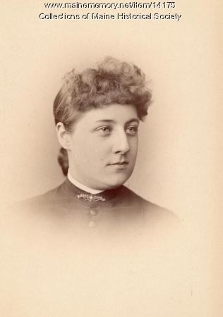 Clara M. Winship, Portland, 1885