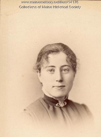 Elzada H. Paine, Portland, 1885