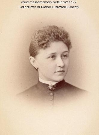 Addie F. Weeks Walker Shaw, Portland, 1885