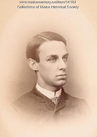 Lyman H. Nelson, Portland, 1885