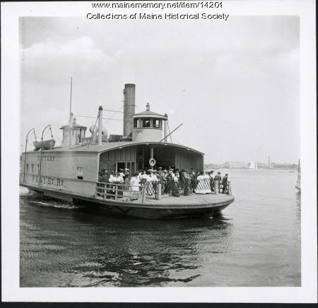 Ferry 'Kittery,' ca. 1904