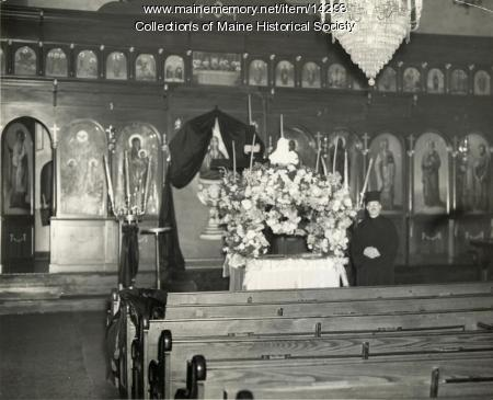 Hellenic Orthodox Church, Portland, 1943