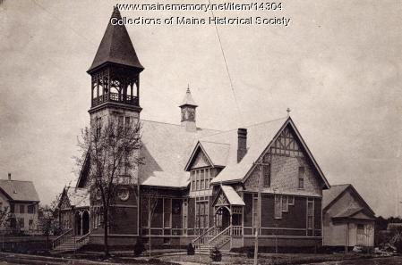 Methodist Episcopal Church, Portland, ca. 1930