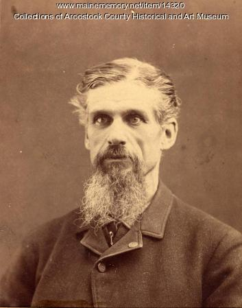 Senator Edward Wiggin, Presque Isle, ca. 1890