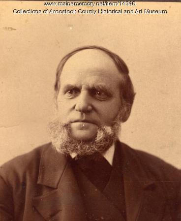 Silas T.  Plummer, Houlton, ca. 1900